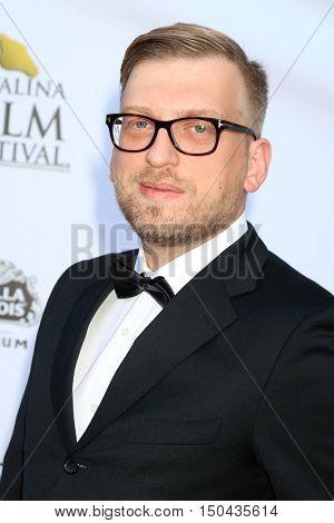 LOS ANGELES - OCT 1:  Vlad Aksenov at the Catalina Film Festival - Saturday at the Casino on October 1, 2016 in Avalon, Catalina Island, CA