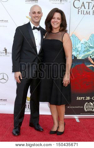 LOS ANGELES - OCT 1:  Nick Ledonne, mother at the Catalina Film Festival - Saturday at the Casino on October 1, 2016 in Avalon, Catalina Island, CA