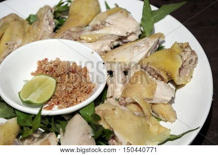 Boiled Chicken Plate