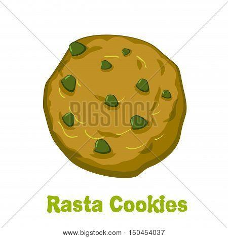 Rasta Cookie. Marijuana And Biscuit. Reggie Food. Narcotic Sweets. Jamaican Sweets. Rastafarians Tre