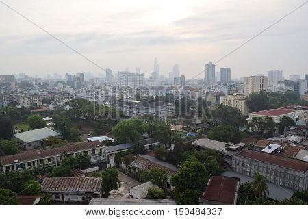 Cityscape Of Ho Chi Minh City