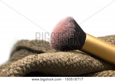 Old Blush Brush Use With Blush On For Make Up