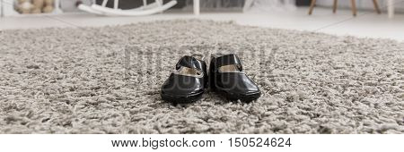 Little Shoes Waiting For Some Little Feet