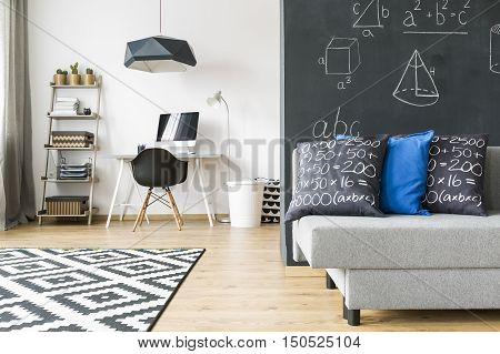 Study Room And Living Room Combined