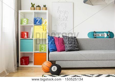 Simple Design Child's Room Idea