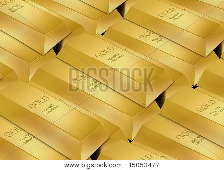 Gold Bar Stack
