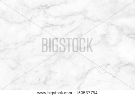 White marble patterned texture background.Detailed structure of marble in natural patterned for background and design.