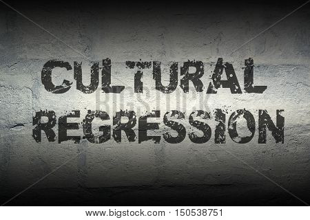 Cultural Regression Gr