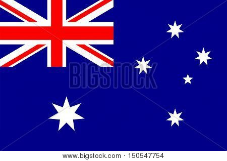 Flag of Australia is an Oceanian country comprising the mainland of the Australian continent the island of Tasmania and numerous smaller islands