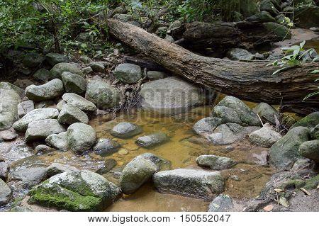 chan ta then waterfall in Bang Phra, Sriracha, Chonburi, Thailand