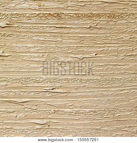 relief beige decorative plaster with natural texture