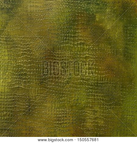relief decorative plaster texture with imitation crocodile skin