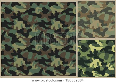 khaki texture pattern, camouflage background, soldier uniform texture