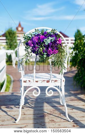 Floristic composition in vintage style. The Provence.
