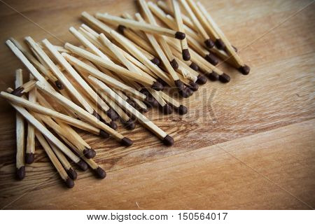 a lot of matches on a wooden background wood background matches