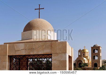 Pilgrims In The Holy Land - Qasr El Yahud Baptismal Site