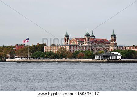 The Staten Island Manhattan New York USA.