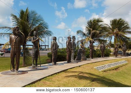 Monument To National Founders, Aracaju, Sergipe State, Brazil