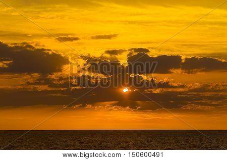Sunset Over Mindil Beach Darwin