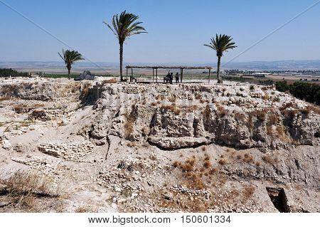 Tel Megiddo Israel