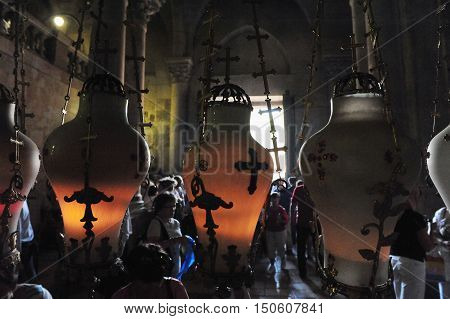 Travel Photos Of Jerusalem  Israel - Church Of The Holy Sepulchre