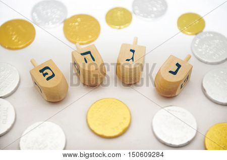 Illustration Photos - Jewish Holidays Hanukkah-chanukah