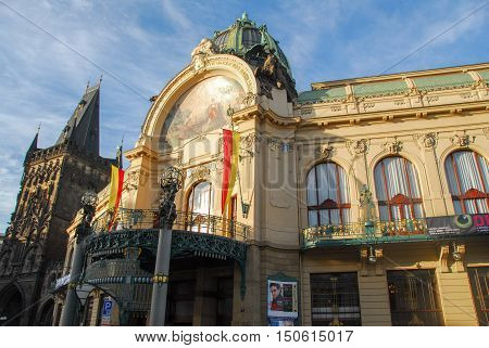 Municipal House - Prague, Czech Republic
