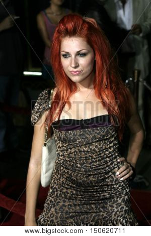 Bonnie McKee at the Los Angeles premiere of 'Exorcist: The Beginning' held at the Grauman's Chinese Theatre in Hollywood, USA on August 18, 2004.