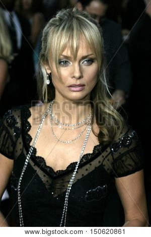 Izabella Scorupco at the Los Angeles premiere of 'Exorcist: The Beginning' held at the Grauman's Chinese Theatre in Hollywood, USA on August 18, 2004.