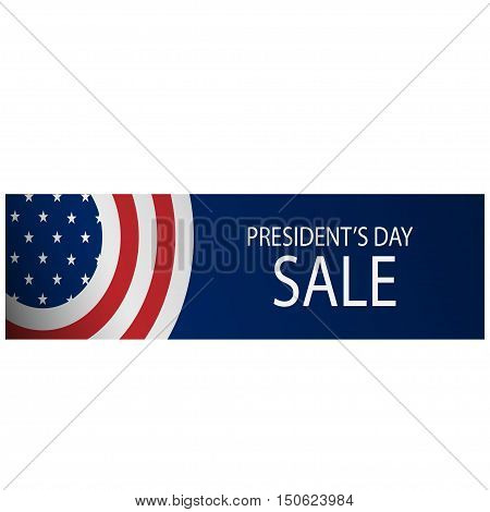 Beautiful card discount the polls white background. Vector illustration