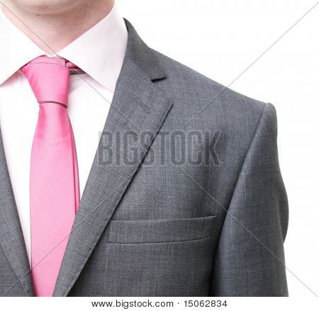 A business man in a suit poster