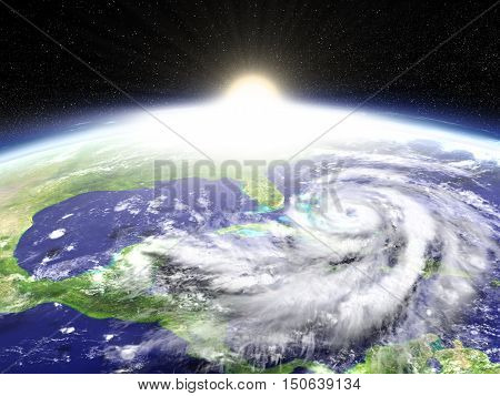Hurricane Sunrise