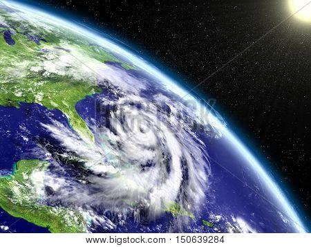 Hurricane Matthew Eye