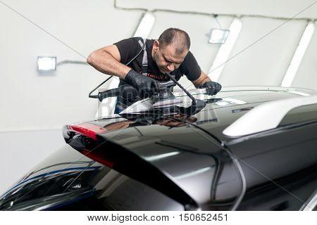 Polished Black Car
