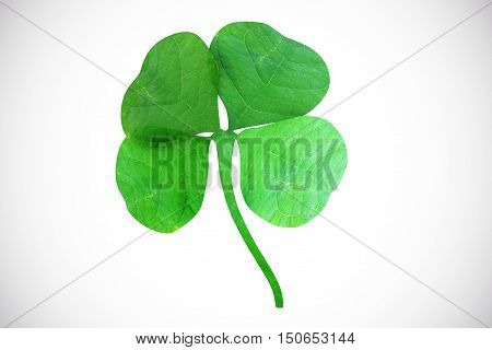 The symbol of the holiday St. Patrick's Day. 3d illustration