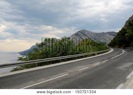 Winding Mountain Road