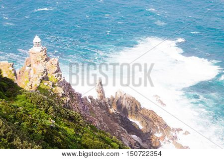 View Of Cape Point Lighthouse South Africa