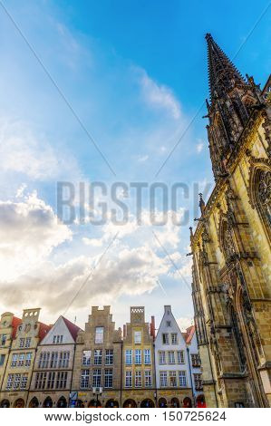 Lamberts Church At Prinzipalmarkt, Muenster, Germany
