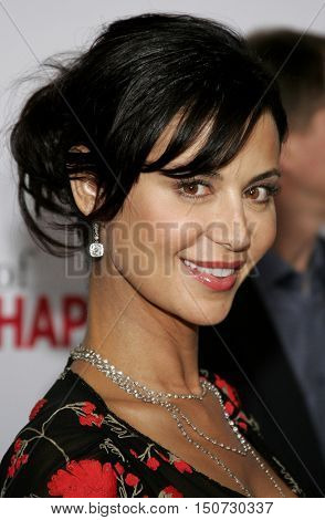Catherine Bell at the Los Angeles premiere of 'The Pursuit of Happyness' held at the Mann Village Theater in Westwood, USA on December 7, 2006.