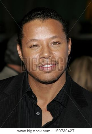 Terrence Howard at the Los Angeles premiere of 'The Pursuit of Happyness' held at the Mann Village Theater in Westwood, USA on December 7, 2006.