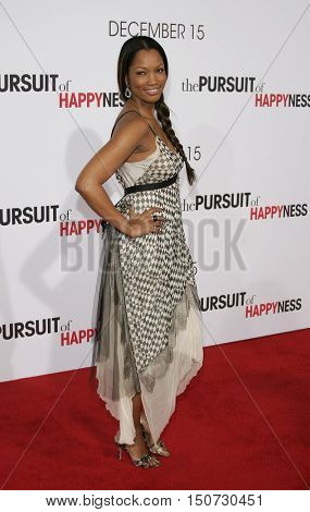 Garcelle Beauvais at the Los Angeles premiere of 'The Pursuit of Happyness' held at the Mann Village Theater in Westwood, USA on December 7, 2006.