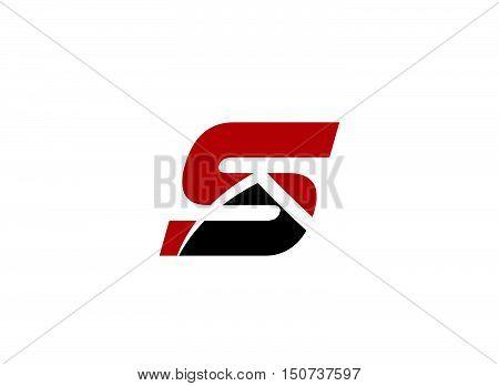 Vector S logo icons .Abstract logo design template