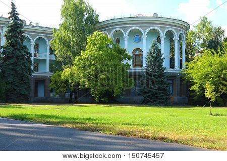 Sanatorium in Ukraine Palace. the landlord of