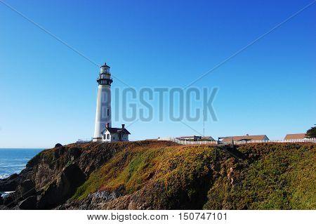 Pigeon Point Light Station State Historic Park, Pescadero, California, USA.