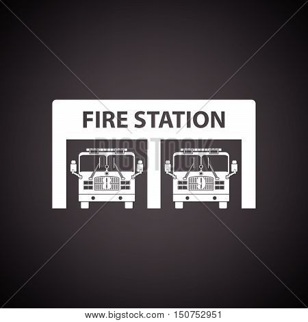 Fire Station Icon