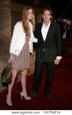 Lukas Haas at the Los Angeles premiere of 'The Good German' held at the Egyptian Theatre in Hollywood, USA on December 4, 2006.