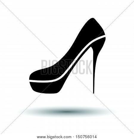 Sexy High Heel Shoe Icon