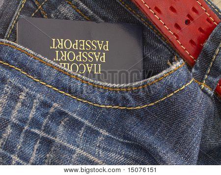 passport in the pocket