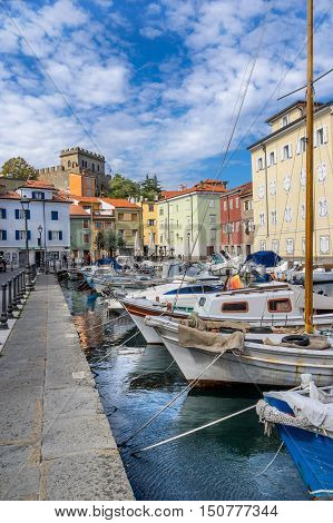 Muggia marina on the east coast ofItaly