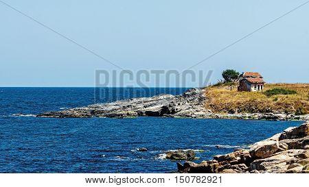 Seascape in the area of Chernomorets, Bulgaria.